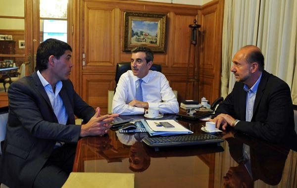La reunión entre Alejandro Ramos