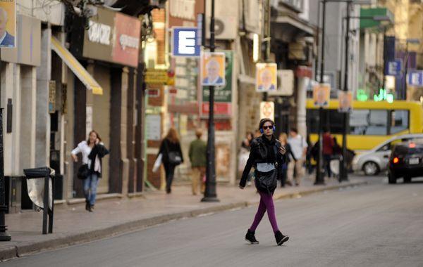 Las calles del centro rosarinos tendrán una actividad más similar a un día feriado.