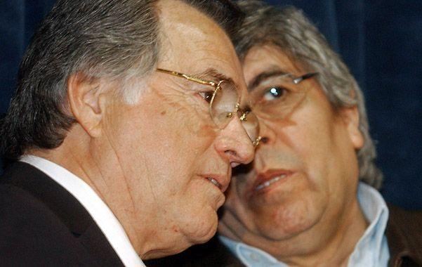 Interna. Barrionuevo y Moyano buscan atraer a la CGT de Caló a un nuevo polo de poder sindical y politico.