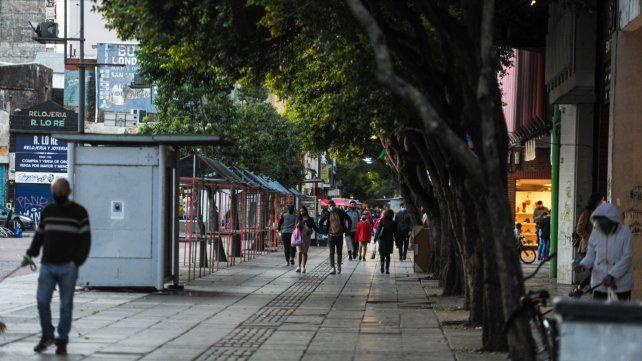 La peatonal San Martín