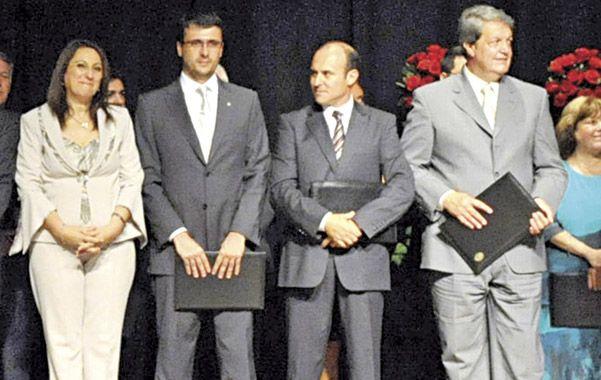 Néstor Trigueros (a la derecha) se había sumado en diciembre de 2011 al equipo de Mónica Fein. (Foto: G.de los Rios)
