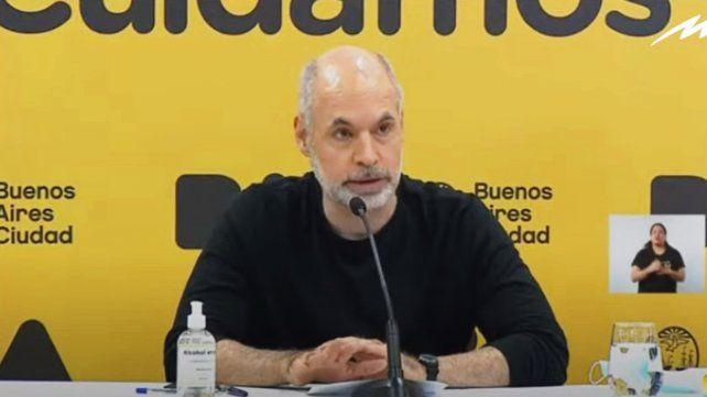 Rodríguez Larreta: Mañana los chicos van a estar sentados en el aula