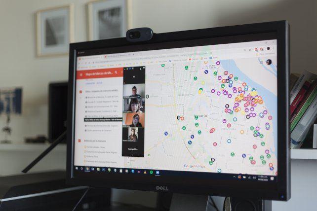 Presentaron un mapa digital sobre las marcas de la memoria de Rosario