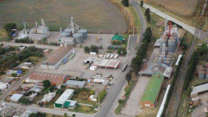 Vista aérea de Arteaga.