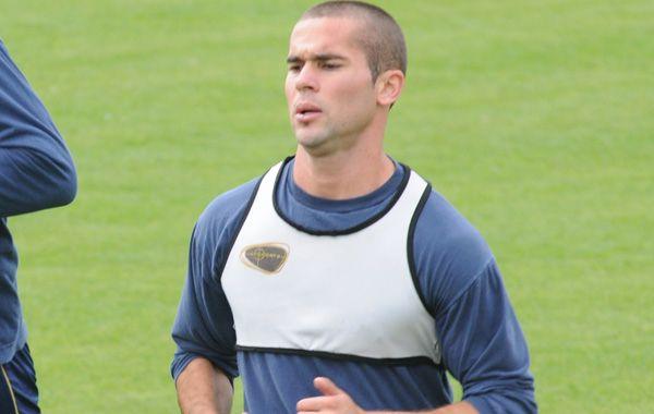 Pablo Becker sufrió una lesión muscular apenas comenzó el entrenamiento futbolístico.