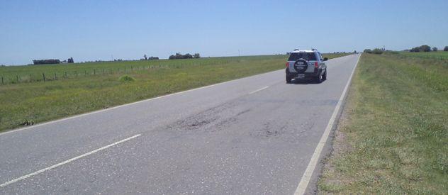 La 26. La ruta tiene 25 kilómetros de longitud y une a Casilda con la 9.