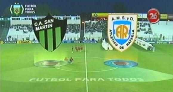 San Martín lo dio vuelta y le ganó a Atlético Rafaela 2 a 1 en San Juan