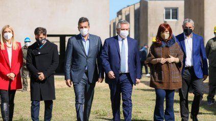 Kicillof, Massa, Fernández y CFK, figuras centrales de la inminente conformación de las listas de precandidatos.
