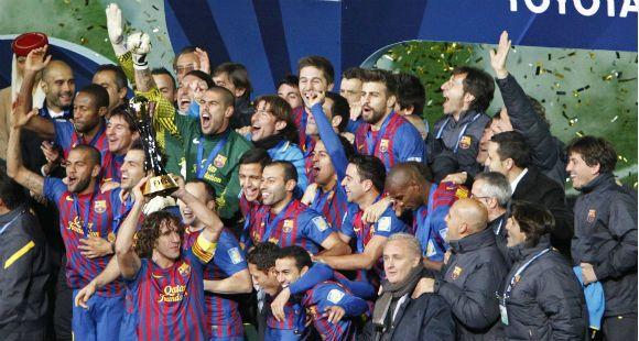 Barcelona se coronó campeón mundial de clubes al vencer por 4 a 0 al Santos en Japón