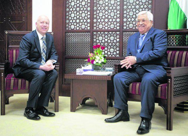 Concordancia. Greenblatt y Abbas se reunieron en Ramalá.