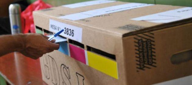 Un total de 2.573.431 votantes están habilitados para sufragar en 1.219 locales y 7.628 mesas.