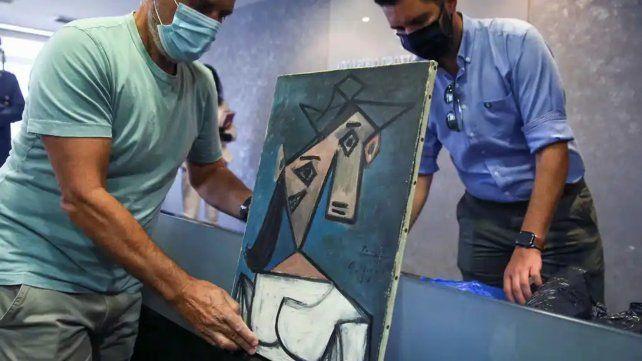 Papelón de la Policía griega tras recuperar un cuadro de Picasso robado hace nueve años