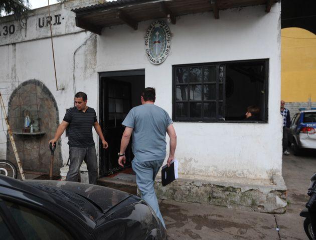 El motín se desarrollò en la comisaría de Casiano Casas y Superí. (Foto: S. Suárez Meccia)