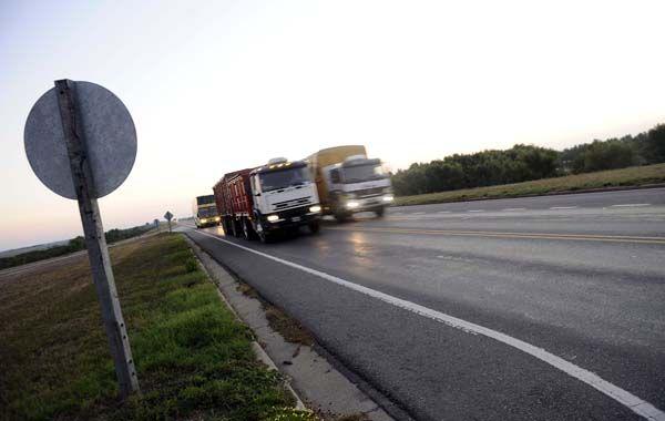 El choque en cadena se produjo en el kilómetro 34 de la ruta a Victoria. (foto archivo: Francisco Guillén)