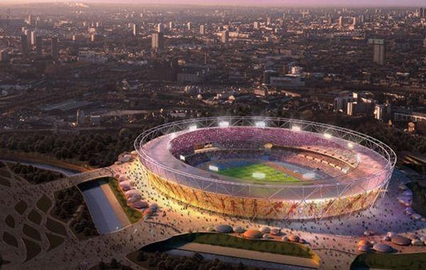 El imponente Estadio Olímpico de Londres
