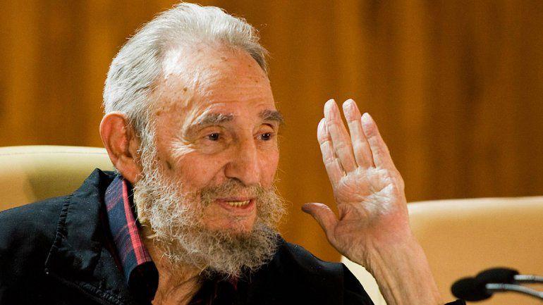 Recelo. El líder cubano recordó que no confío en la política de EEUU ni he intercambiado una palabra con ellos.