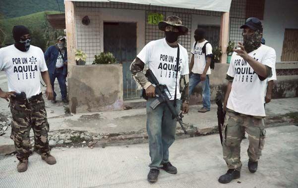 Milicias. Autodefensas civiles en el violento estado de Michoacán.