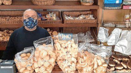 Día del panadero: Gabriel Toso, panadero de Paraná.
