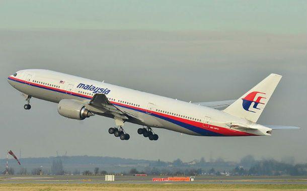 Despegue. El Boeing desaparecido de la aerolínea malaya.