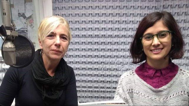 Andrea Calamari y Clara López Verrilli son las coordinadoras del proyecto.
