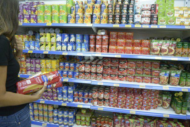 La inflación en alimentos y bebidas en la provincia fue de 6%