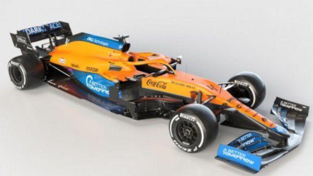 El MCL35M es una evolución del coche de 2020