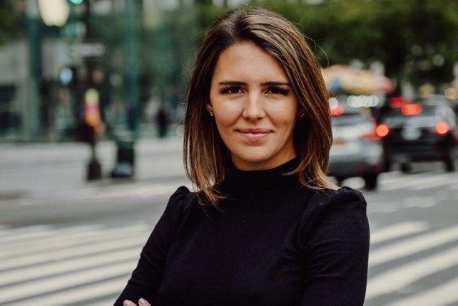 Valentina Berger vive en Nueva York desde 2008 y participó en producción ejecutiva