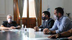 El ministro Sain puso en funciones al nuevo director de la Agencia de Investigación Criminal.
