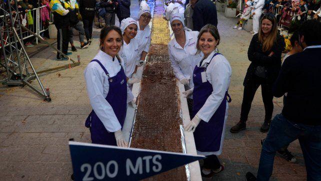 Un clásico. La Fiesta Nacional del Chocolate en Bariloche