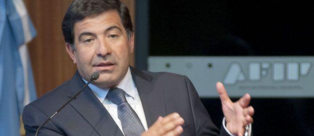 Más regulados. Echegaray anunció nuevas medidas que buscan avanzar sobre la evasión en el negocio del fútbol.