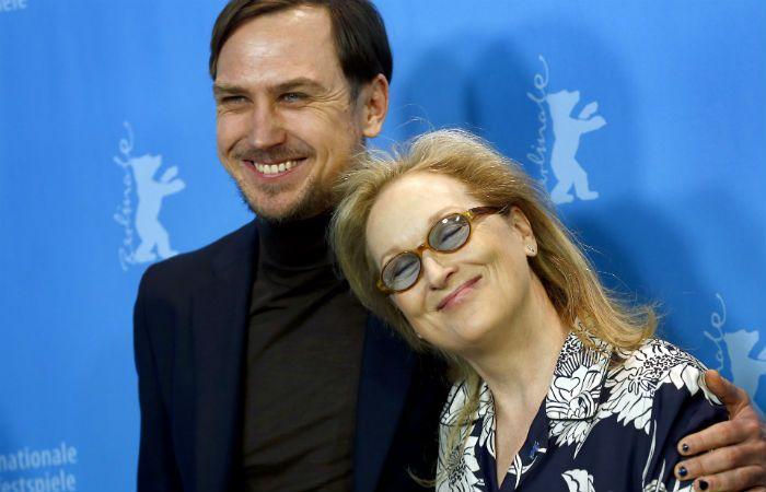Al frente. Meryl Streep