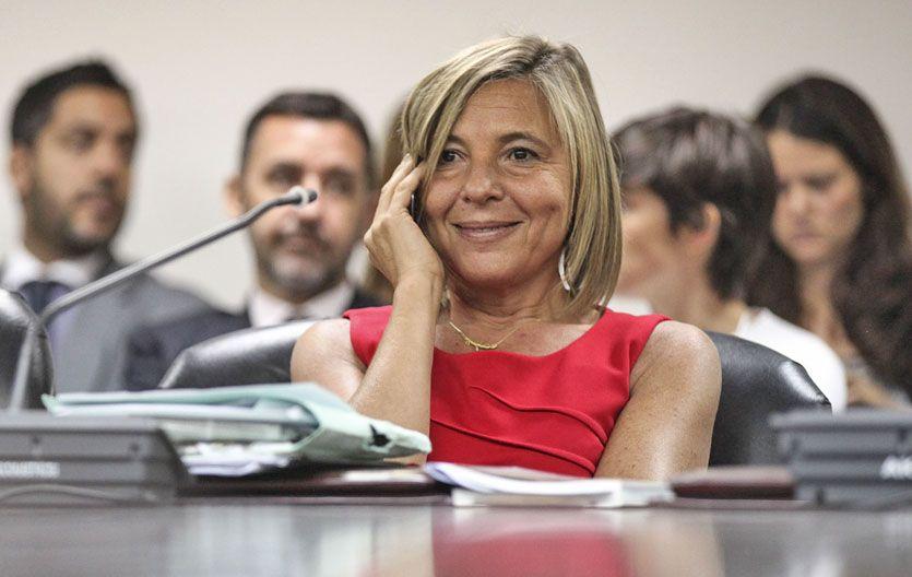 La jueza Gabriela Vázquez