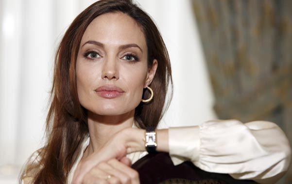 Angelina. La actriz