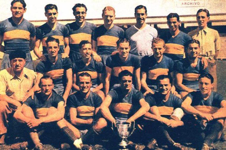 """""""El mejor equipo que vi"""". De corrido nombró la formación titular de Boca en 1940: """"Vacca"""