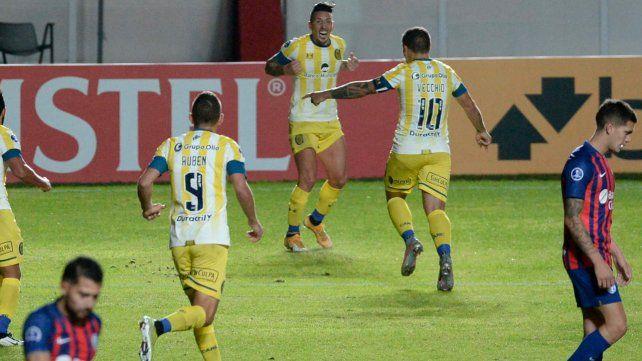 El canalla viene de hacer un gran partido ante San Lorenzo.