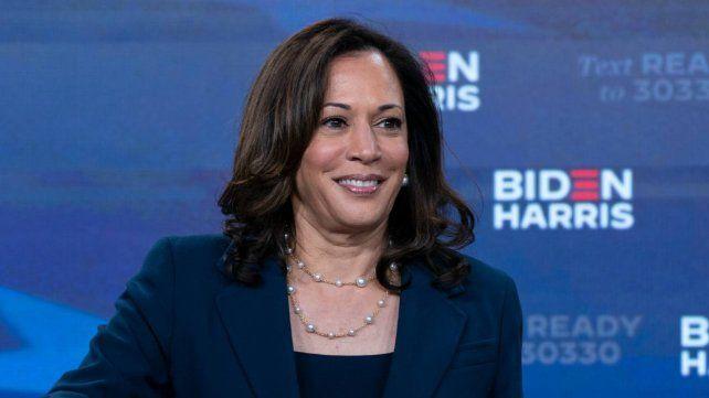 La candidata a vice de Biden.