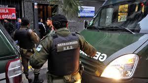 Gendarmería fue una de las fuerzas de seguridad que participó del operativo en la city.