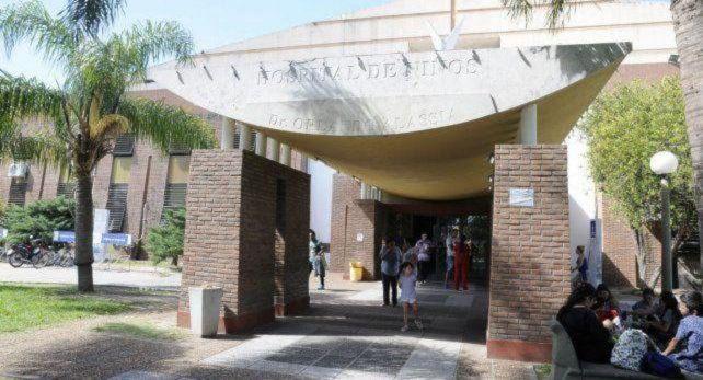 Santa Fe. El niño murió en el Hospital de Niños Orlando Alassia.