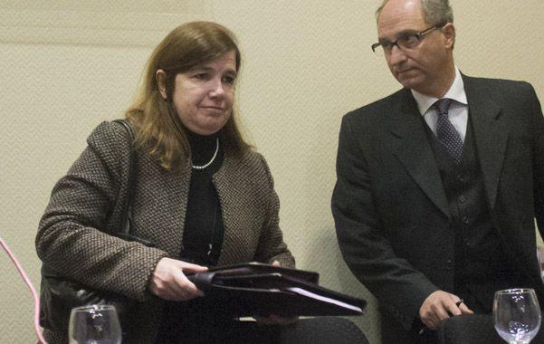 Estresada. La defensora Martínez Córdoba desistió de volver al Jury.