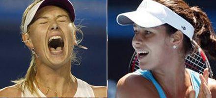 Las más lindas a la final de Australia: Sharapova vs. Ivanovic