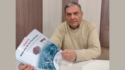 El periodista e historiador, Horacio Deluca.