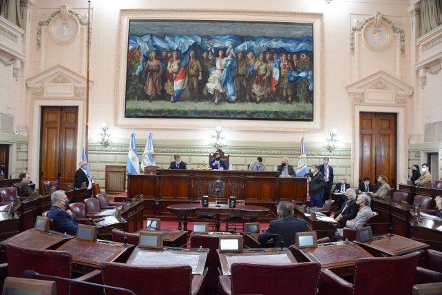 El cuerpo legislativo volvió a pronunciarse acerca de Traferri.