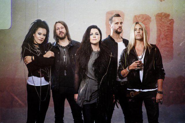 Evanescence lanzó su primer álbum después de una década