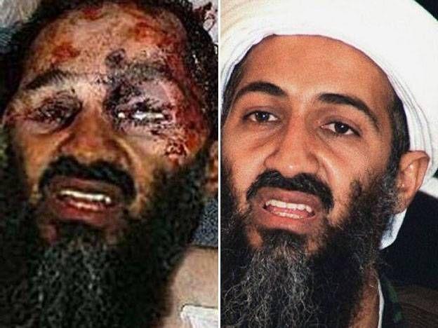 Una fotografía falsa de Bin Laden muerto
