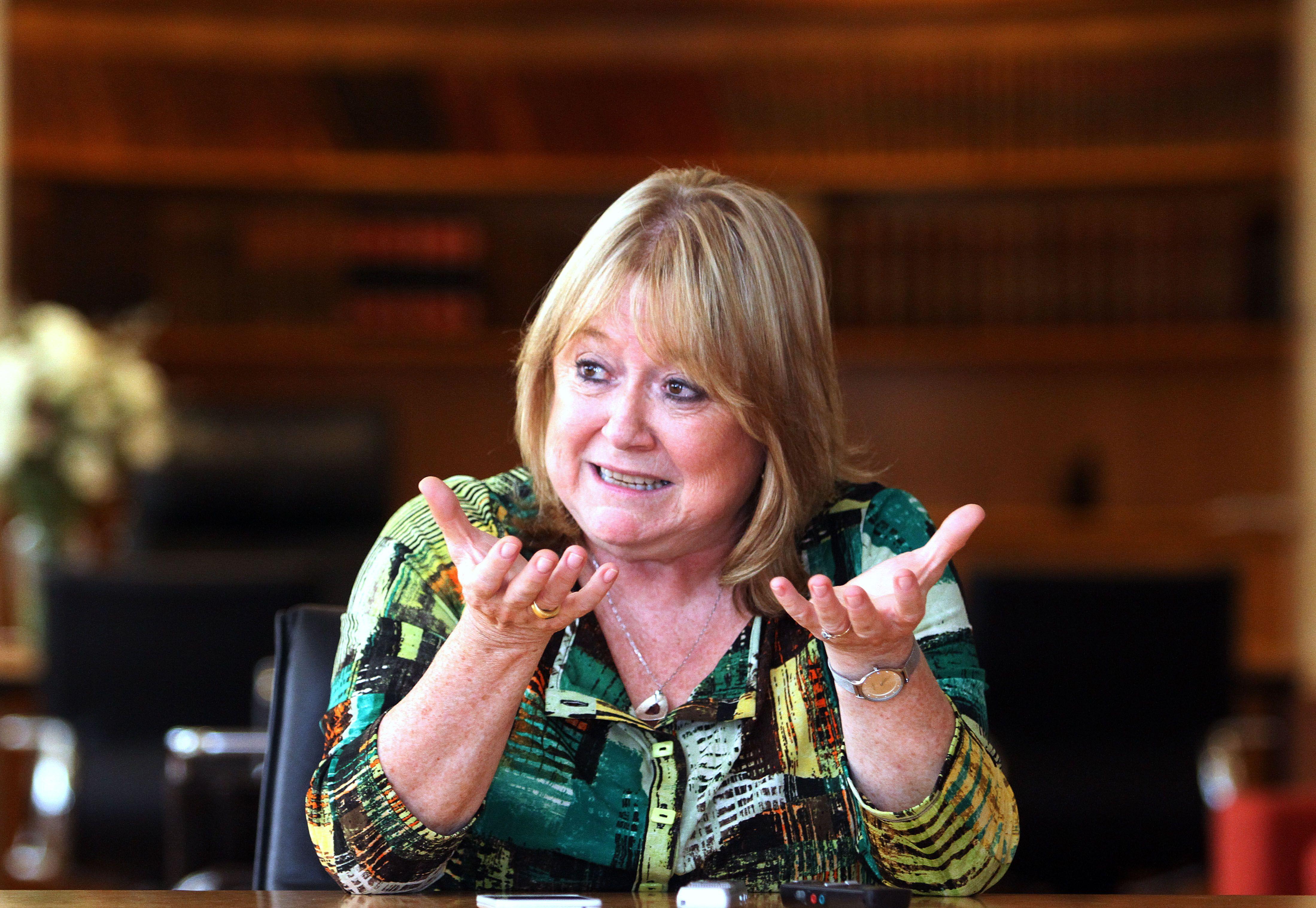 La canciller argentina Susana Malcorra forma parte de la delegación argentina que viajó a Davos.