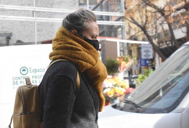Hace falta un abrigo. Este miércoles volvió el frío. Mañana