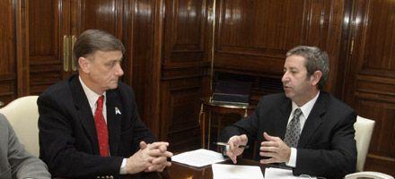 Binner descartó una alianza con Cobos: No estamos en tiempos electorales