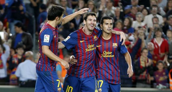 Otra tarde de gloria para Leonel Messi, que hizo dos goles, y Gonzalo Higuaín, que marcó tres