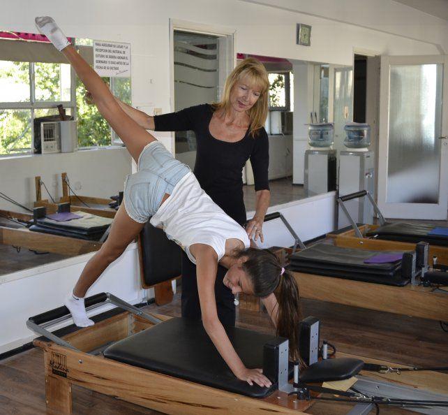 Instructor en Pilates Reformer con Mirta de Fussi