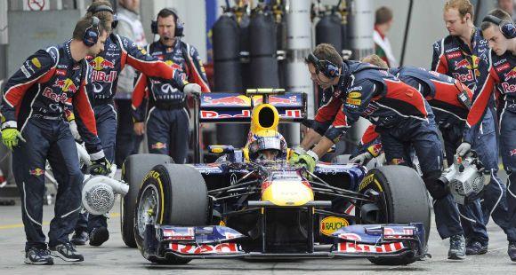 Webber larga primero en el Gran Premio de Alemania de Fórmula Uno